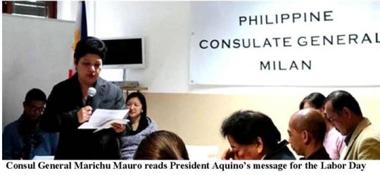 PHILIPPINE CONSULATE GENERAL IN MILAN STARTS OVERSEAS VOTING