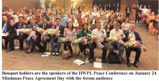 Bangsamoro Leaders Powered Up The Hwpl Mindanao Peace Agreement Day